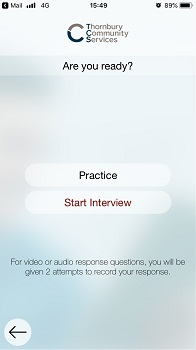 Video interviewing for Nurses
